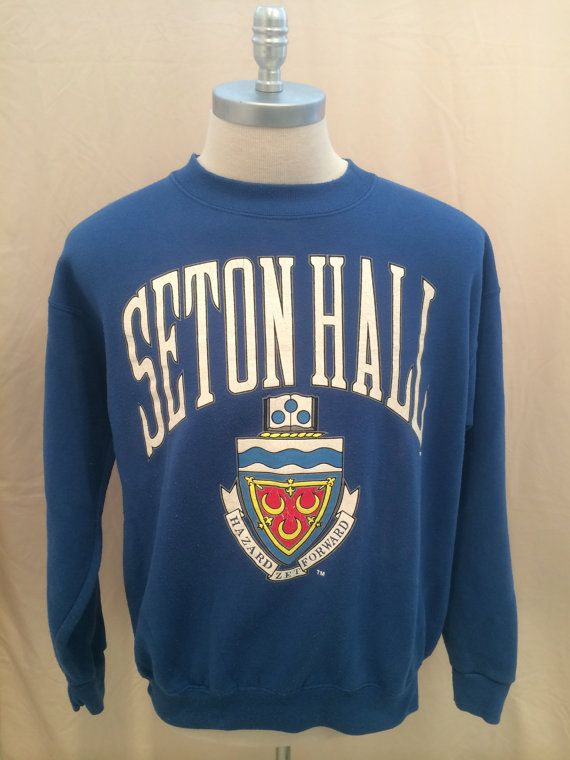 Early 90s Seton Hall University SHU Pirates by CuratedClothing