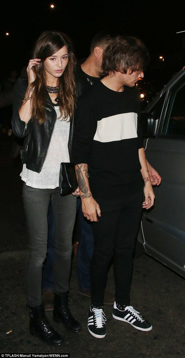 Going strong! The 22-year-old was joined by girlfriend Eleanor Calder, who looked stylish ...