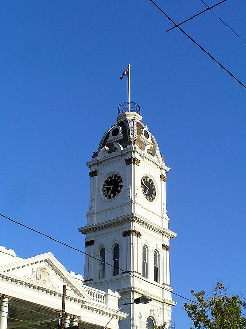 Former Malvern Town Hall, Glenferrie Road, Malvern. The clock tower was added in 1890.