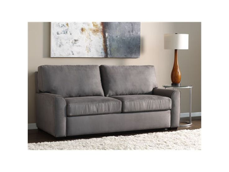 American Leather Living Room Two Cushion Queen Sleeper