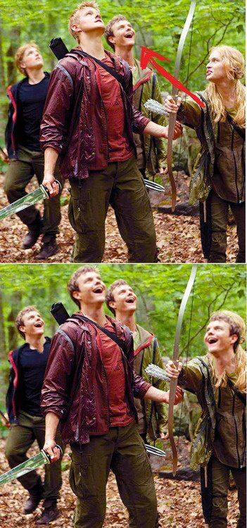 """#Marvelous hahaha, best Hunger Games picture ever. Jack Quaid is probly looking at this being like """"and i thought i had a small acting role..until this picture"""""""