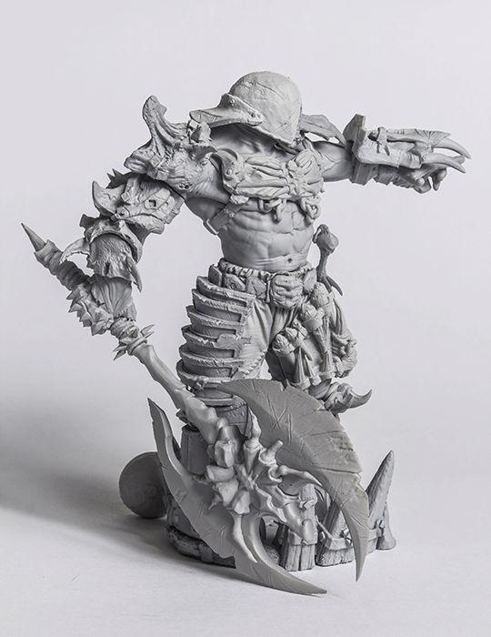 Orc Warlord STL
