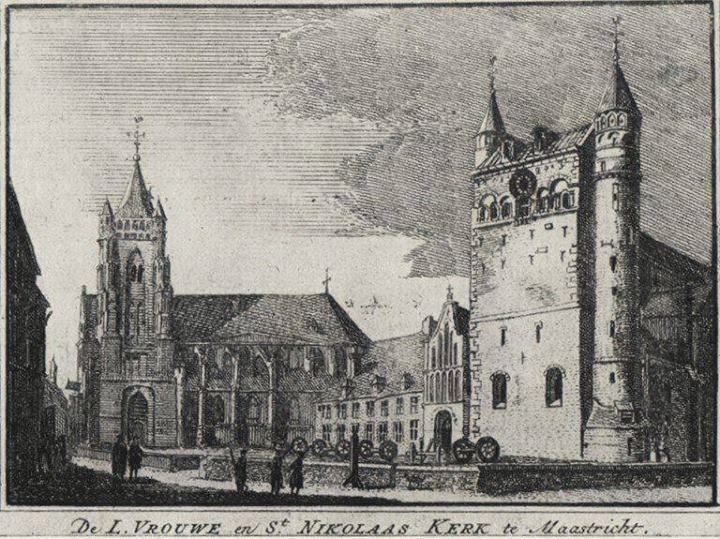 From 1740, Onze-Lieve-Vrouwe square
