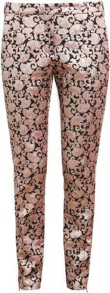 Pala Iridescent Jacquard Trousers