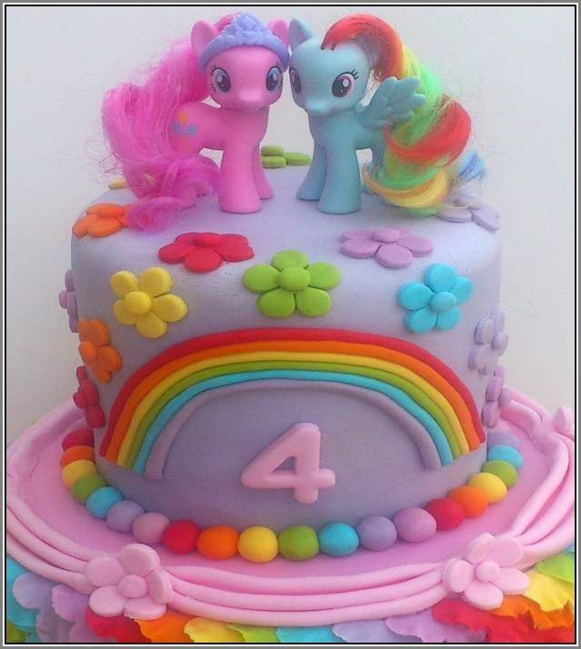 diy my little pony cake
