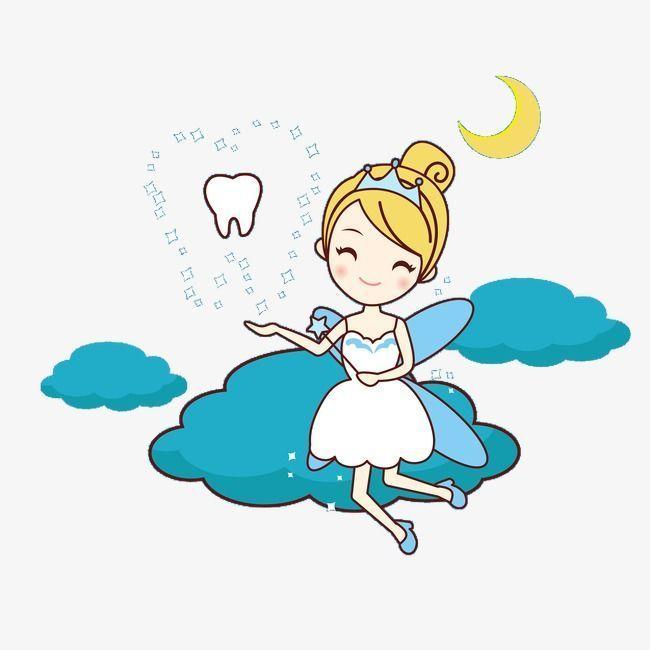 Картинка зубная фея на прозрачном фоне