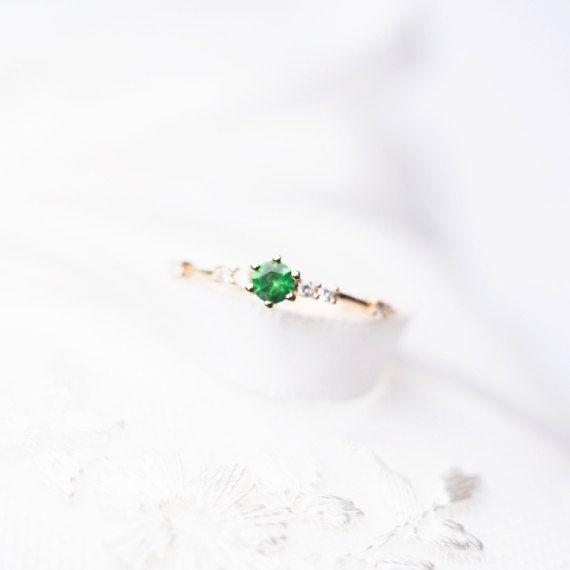 Saphir Hochzeit Band 18k Saphir Diamant Ring rosa Saphir