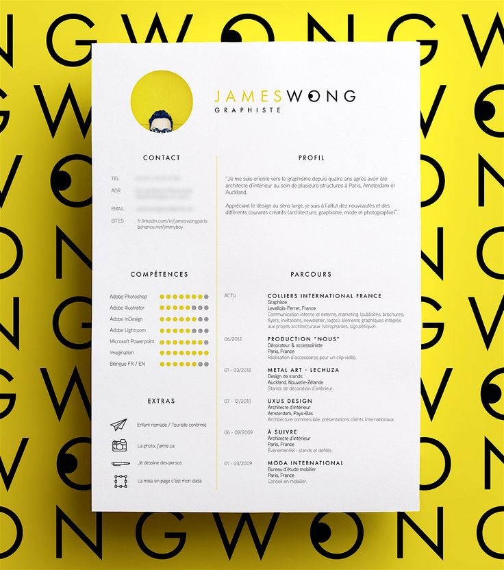 Emphasize career highlights on your resume by using color strategically [free templates] – Design School