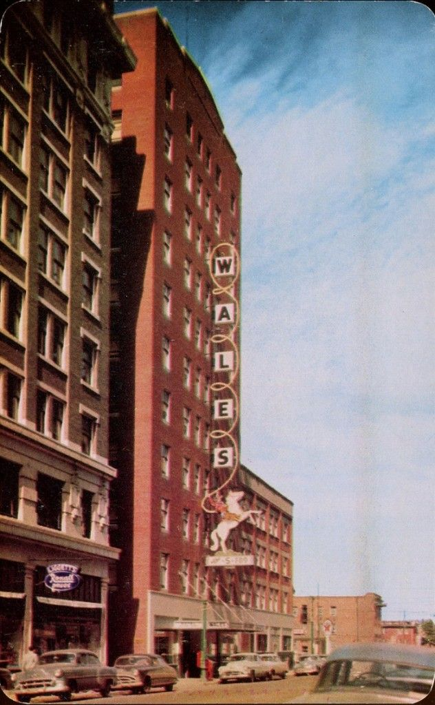 18 retro photographs of Calgary from the 1960s - Hotel Wales at 709 2nd Street SW, year unknown