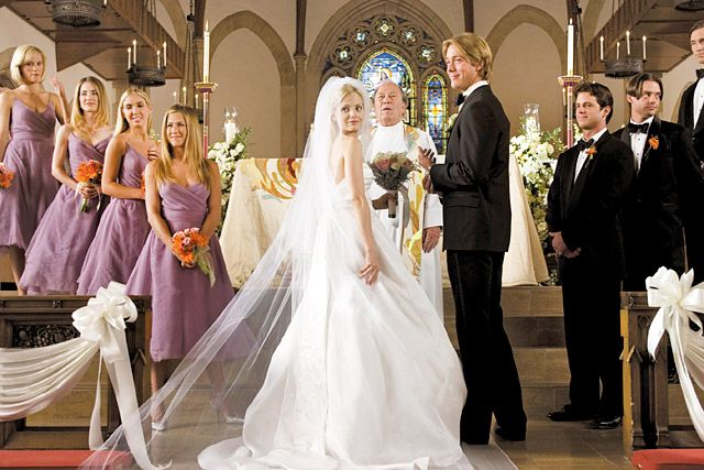 Celebrity Wedding Dresses: TV & Movies