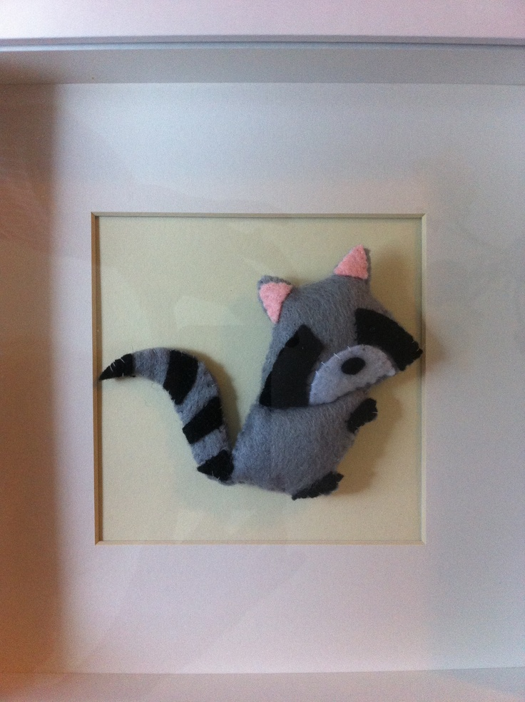 - Racoon from the 'Canadiana' collection