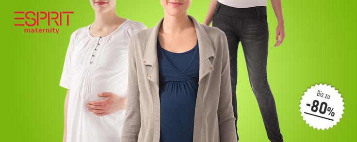 AKTION! Schwangerschaftsmode, die nicht nur funktional ist! Bei outlet4minis.de gibt es jetzt schicke und trendige Umstandsmode von Bellybutton und Esprit - bis zu 80 % reduziert! Reinschauen lohnt sich ;-)