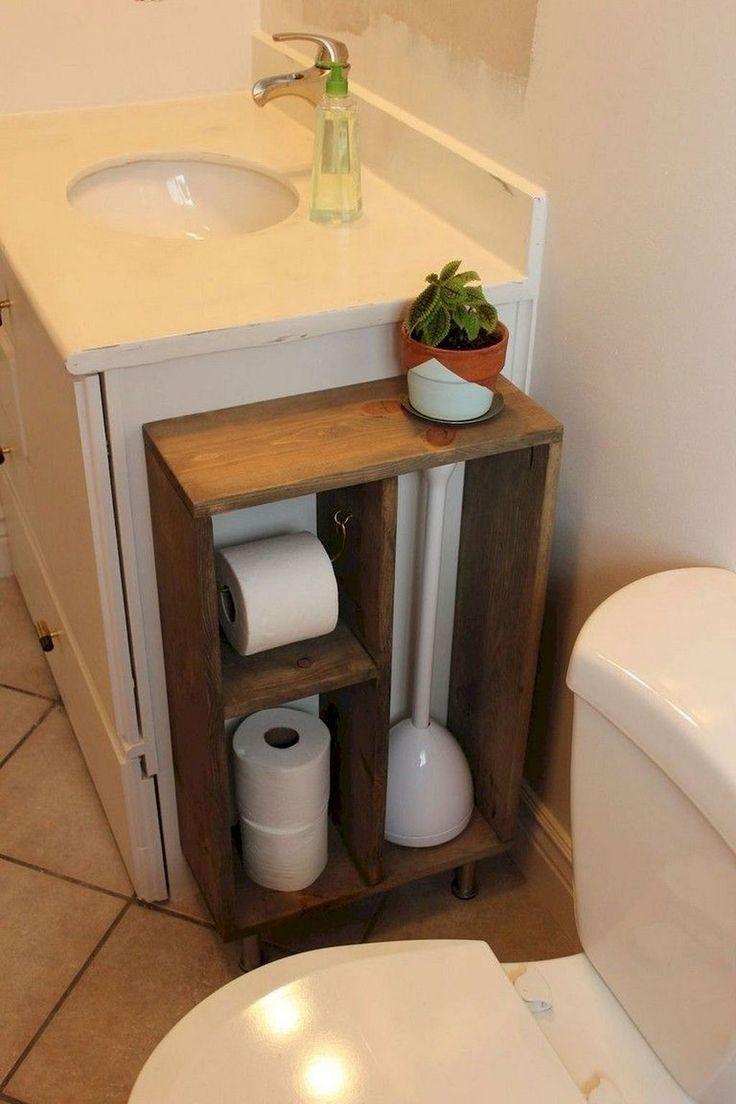 storage ideas in the bathroom | Bathroom decor apartment ...