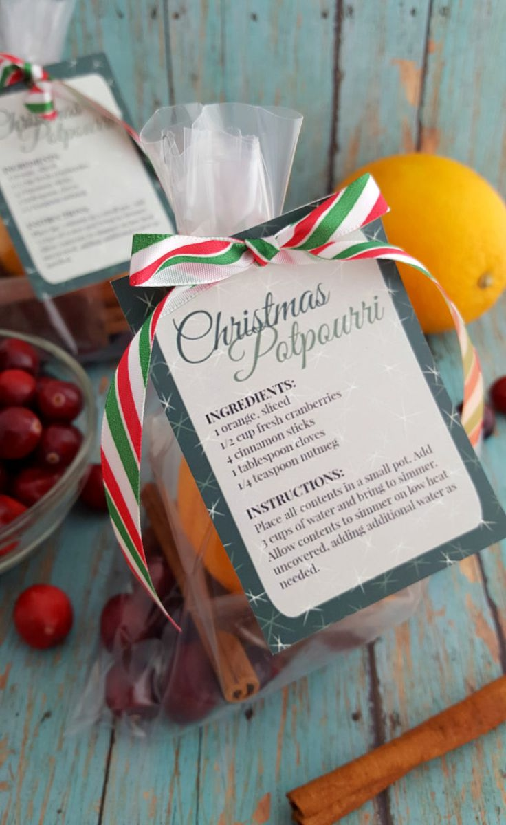 This DIY Christmas Potpourri with Printable Gift Labels will fill the gift recipient's home (or your own if you make it for yourself) with a wonderful, long lasting all-natural aroma.