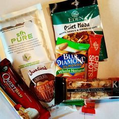 Healthy snacks for travel!