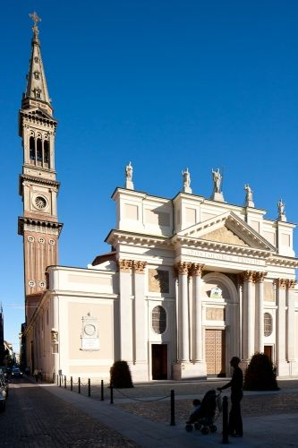 San Peter's cathedral in Alessandria, Italy