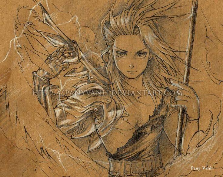 Edward Elric Fullmetal Fan art (Sketch) by ~PanyVanh on deviantART