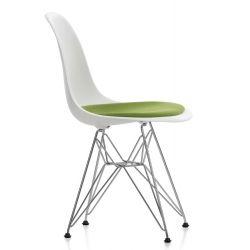.VITRA Eames Plastic Sidechair DSR met zitkussen