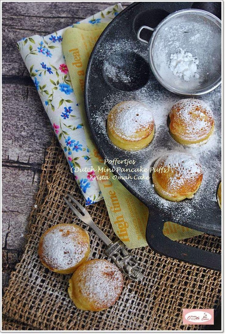 KRISTA MOCAF KITCHEN: Poffertjes - Dutch Mini Pancake Puffs