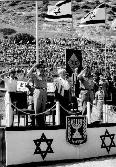 November 29, 1947, creation of the State of Israel.