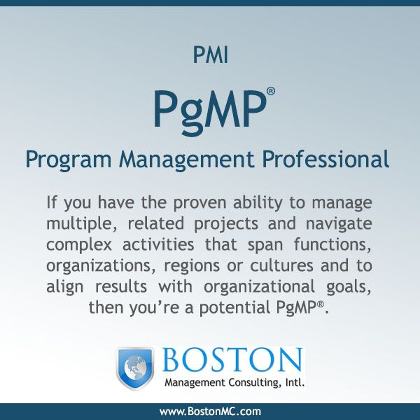 Attend our PgMP Exam Prep training course and be ready to sit & pass ...