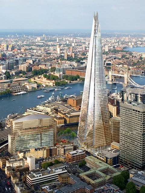 If you're interested in #architecture, don't miss The Shard by Renzo Piano when you #studyabroad in #London. For more architecture gems in London, check out CAPA's list of 10 recommendations: http://capaworld.capa.org/2014/05/06/10-architecture-sites-see-study-abroad-london/