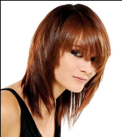 hair styles medium copper hair styles copper and 5385