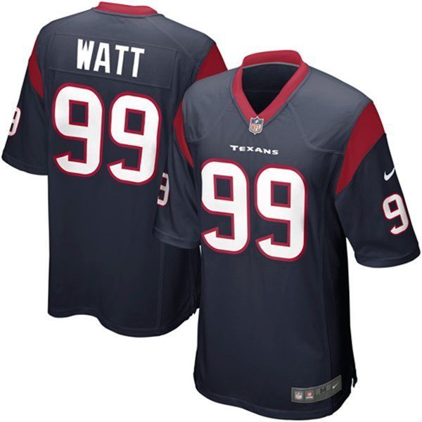 celebrate your houston texans fandom with this game football jersey by nike. it features printed hou