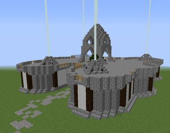 Medieval Throne Hall - GrabCraft - Your number one source for MineCraft buildings, blueprints, tips, ideas, floorplans!