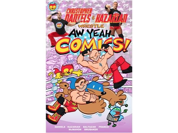 """The Total Tutor Neil Haley will interview Christopher Daniels of Ring of Honor. """"From the creative team that brought you CHRISTOPHER DANIELS & KAZARIAN WRESTLE AW YEAH COMICS comes the newest title from Aw Yeah Comics, AW YEAH COMICS TEAM-UP #1! Action Cat & Adventure Bug have protected Beautiful Downtown Skokie from all kinds of threats. But what happens when the newest bank-robbing threat is a familiar face: Christopher Daniels?!? How will the heroes deal with their former com..."""