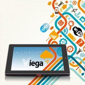 Via Viega, Tablet 10 Inch yang Tahan Tumpahan Air