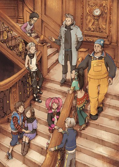 Zero Escape is a series of single player Puzzle Adventure Games  whose stories involve the abduction of several people by someone known as Zero. The abducted people must work together or occasionally betray each other in order to escape with their lives from the ships, buildings, and/or rooms they've been trapped in. The series is recognized for its strong sense of urgency and danger without ever pressuring the player. Character development is emphasized and always plays a major role.