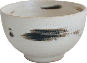 White matcha bowl