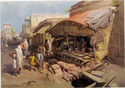 William Simpson Calcutta Bazaar