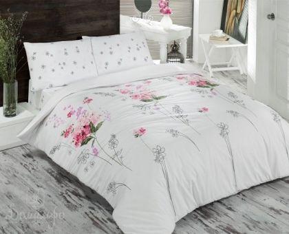 Купить постельное белье из ранфорса BRIELLE SHADE красное 1,5-сп от производителя Brielle (Турция)