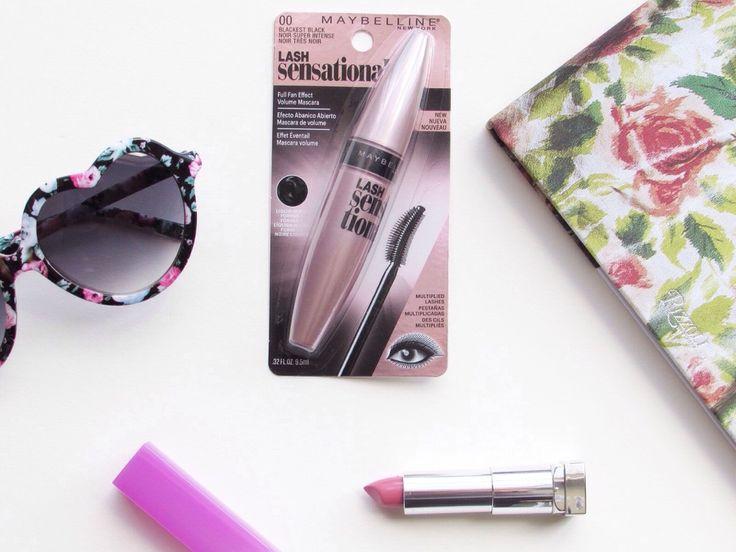 Review of Maybelline New York lash sensational full fan effect volume mascara sparkleshinylove