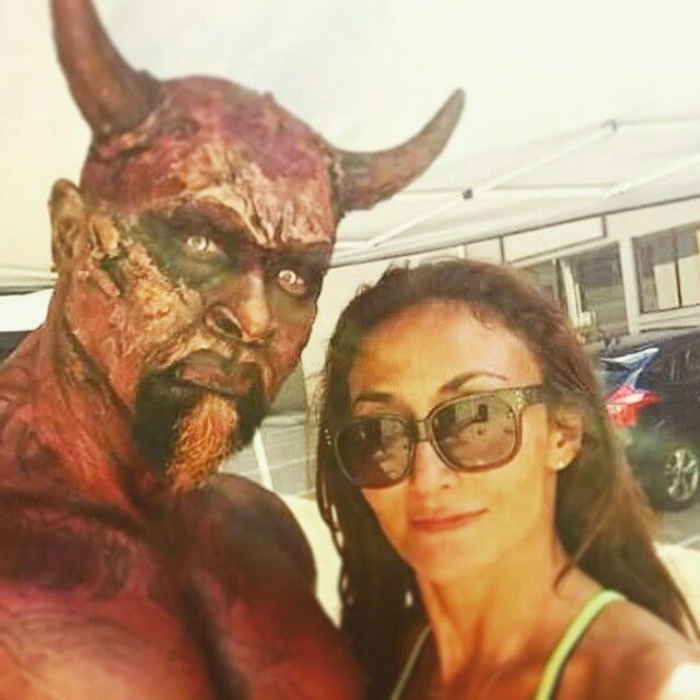 #devil #shortmovie   #jesuswalks #shootthetownred #goregeousportraits #charmainewarpaint #sfx #prosthetics all by me of course #horns  #specialeffects and #bodypaint by #charmainewarpaintorchard,  #GOREgeousPortraits. #shootthetownred