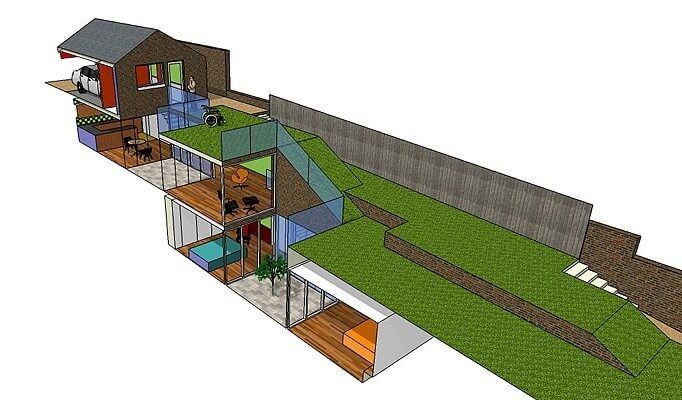 Underground House Plans Australia Underground Homes Earth Sheltered Homes House Plans With Photos