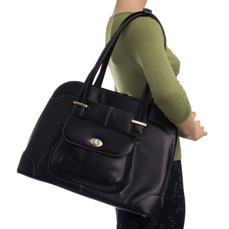 McKlein Avon Ladies' Leather Briefcase