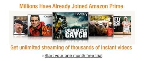 Amazon instant prime video free trial