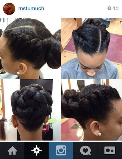 Protective Styles from Our Instagram Hair Crushes: Protect and Serve: Page 9 : Essence.com