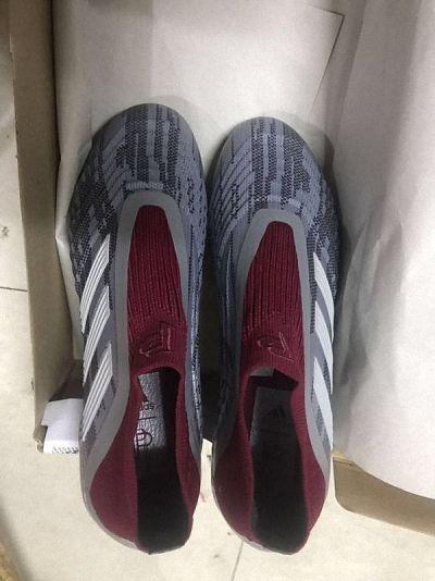 1982795a45c FIFA World Cup Russia 2018 Shop Adidas x Paul Pogba Predator 18+ FG Unisex  Football Shoes Grey Burgundy