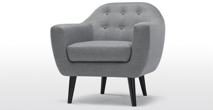 Ritchie Armchair, Pearl Grey