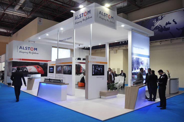 Diseño de stand en Eurasia Rail Estambul