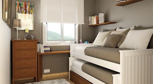 Decoration tips that you can employ to enliven small narrow bedroom spaces  Hometone