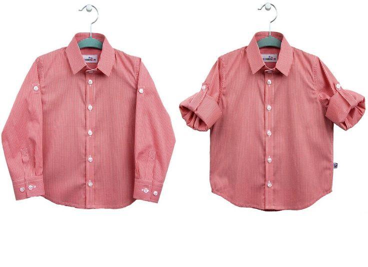 Koszula w kratę Monsinior # Your exclusive shirt # monsinior.pl # Checked shirt # kids fashion