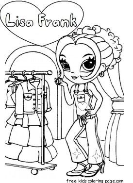 lisa frank coloring pages people working | 54 best lisa frank coloring pages images on Pinterest ...