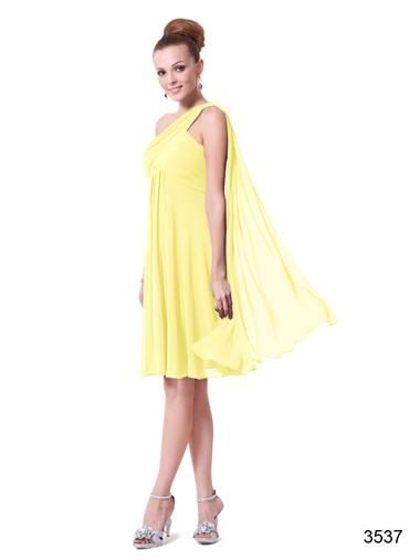 Dress 3537 http://www.bridalallure.co.za/bridesmaids-dresses/shop-by-color/yellow/03537yl