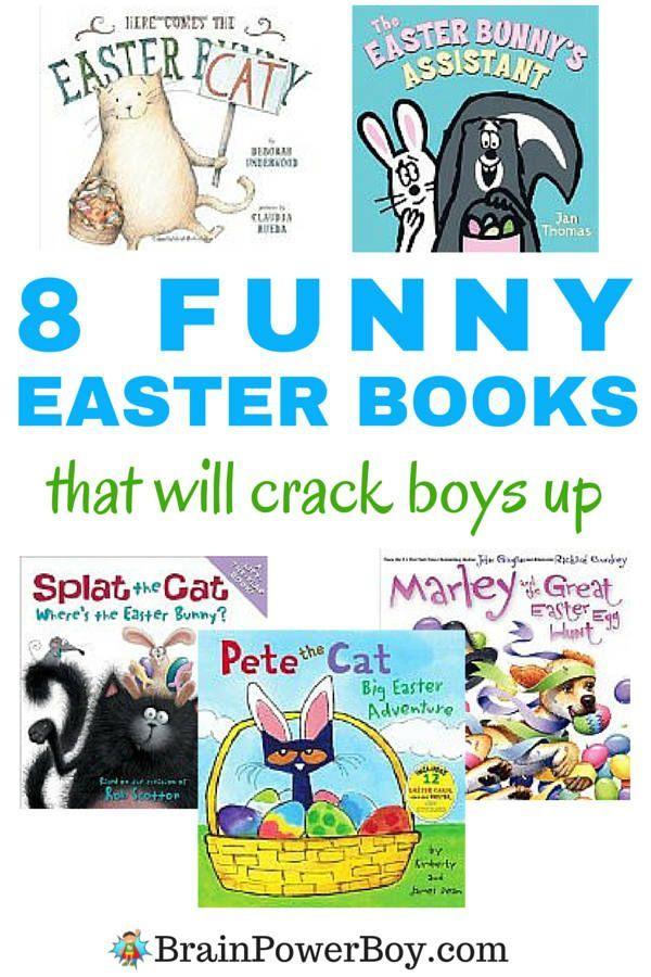 Funny Easter Books for Boys