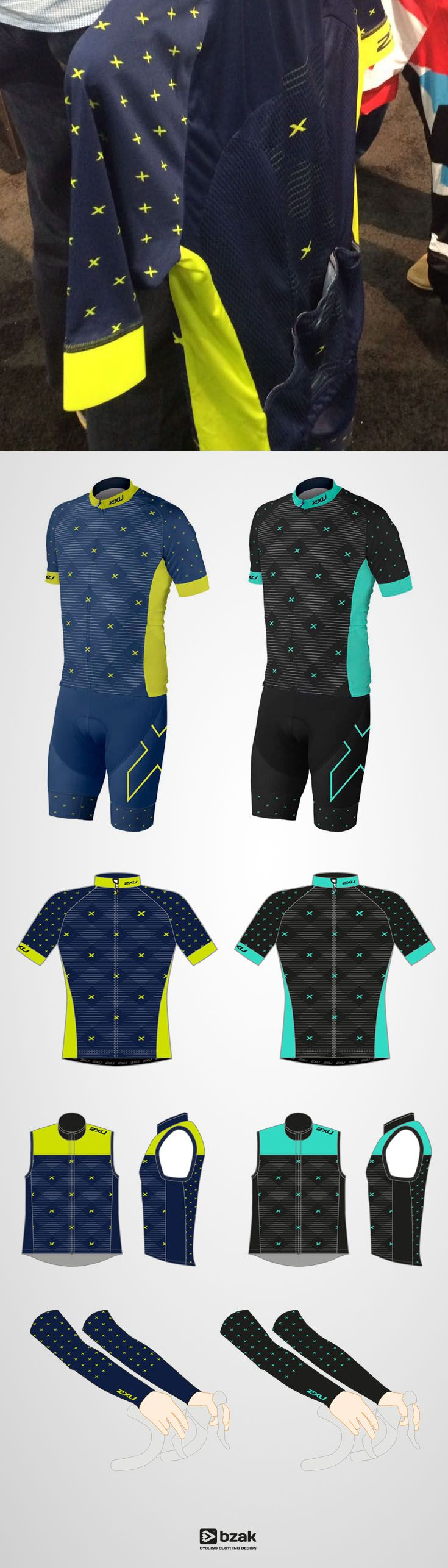 New kit designs for 2XU USA -prototypes launched at Interbike 2016
